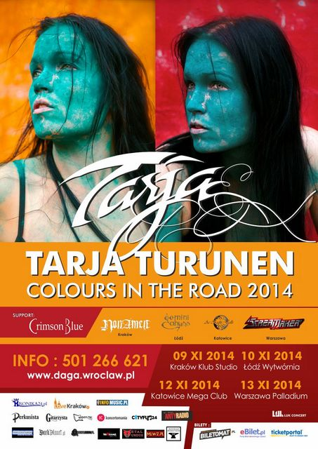 picture Tarja Turunen - COLOURS IN THE ROAD