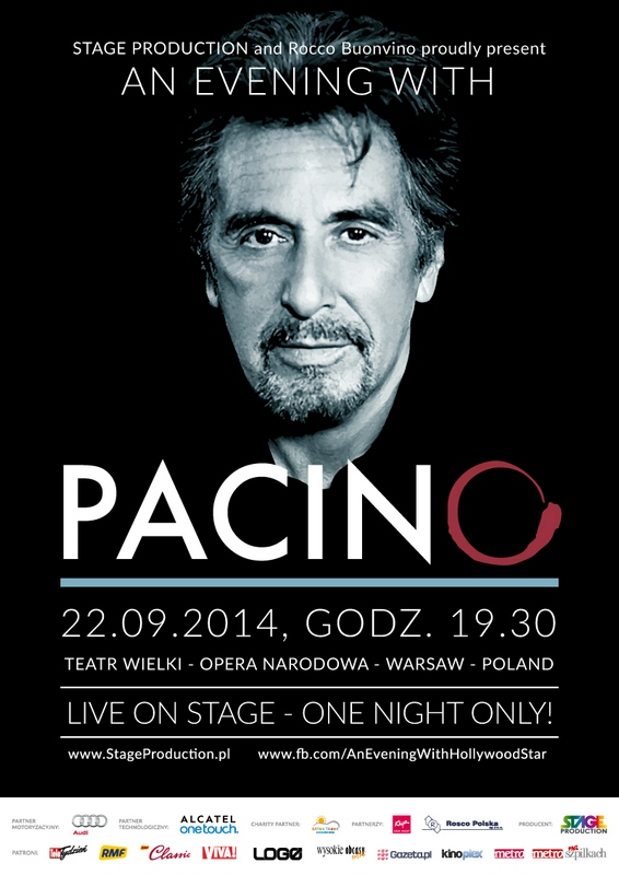 picture An Evening with Al Pacino